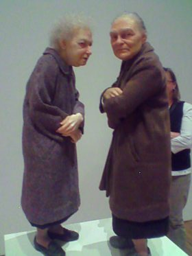 Ron Mueck Exhibition Old Woman