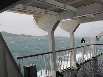 Ferry ride from Hell..no Wellington....to serenity of Queen Charlotte Sound.