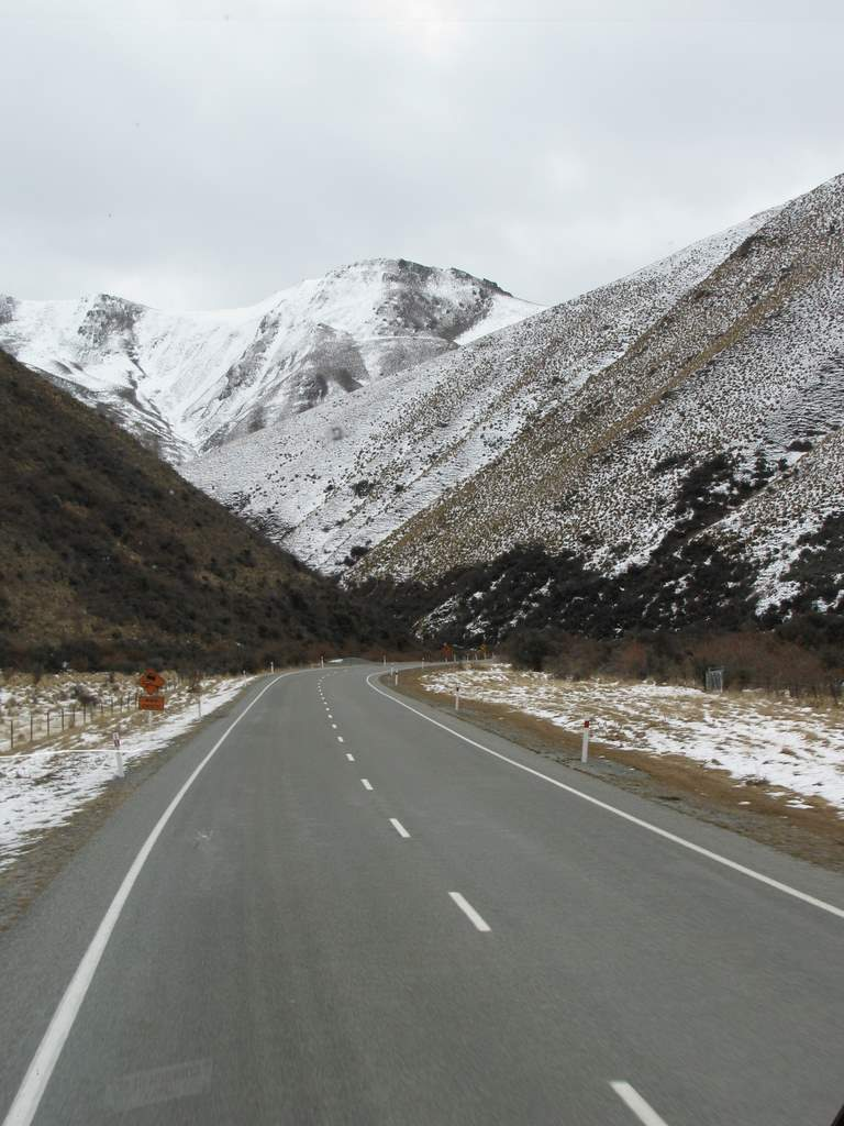 On the way to Cromwell.....the Lindis pass