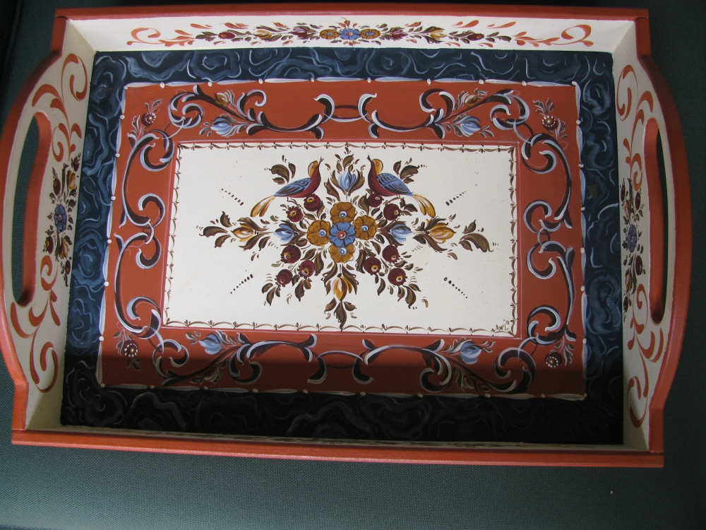 Hindeloopen painting -a Traditional Decorative Art (4/5)