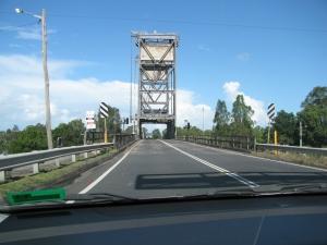 Opening Bridge in MacLean, New South Wales, Australia