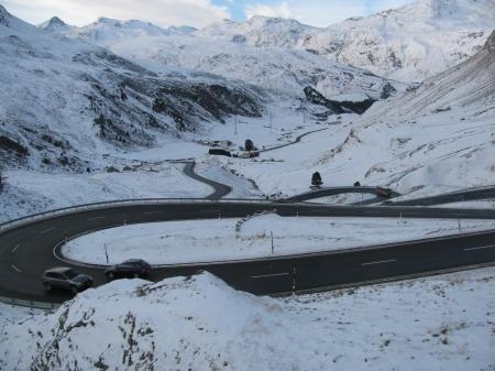 Juliet Pass, near St Moritz, Switzerland