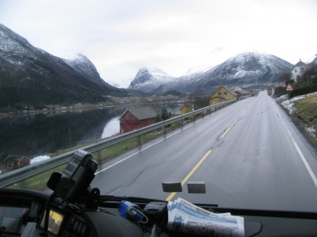Near Andalsnes, Norway