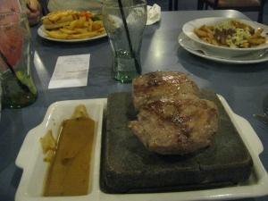 Hot Rock Dinner