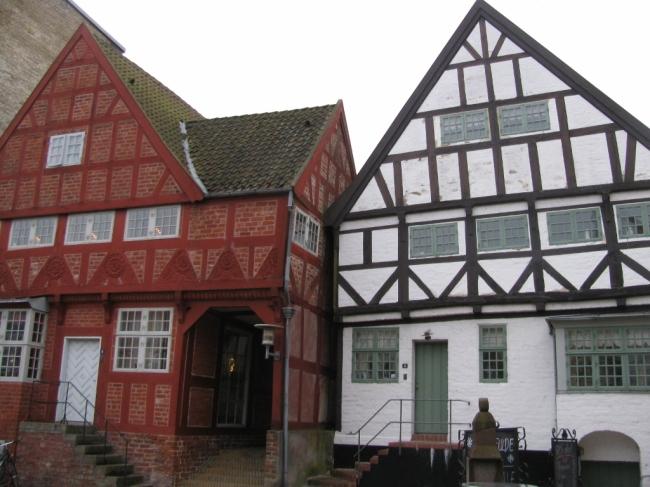 Haderslev, Denmark - Historic homes