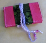 Needle book, sewing, crafts