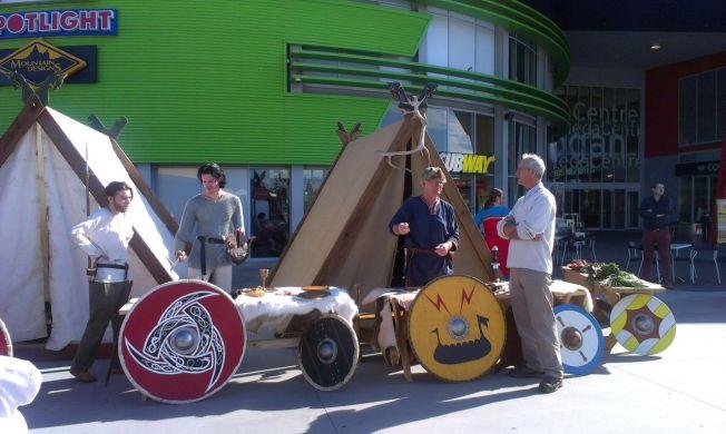 Saga Viking reenactment group