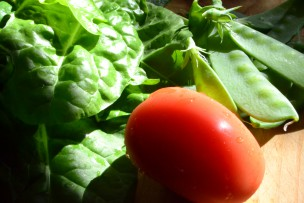 vegetables tomato salad