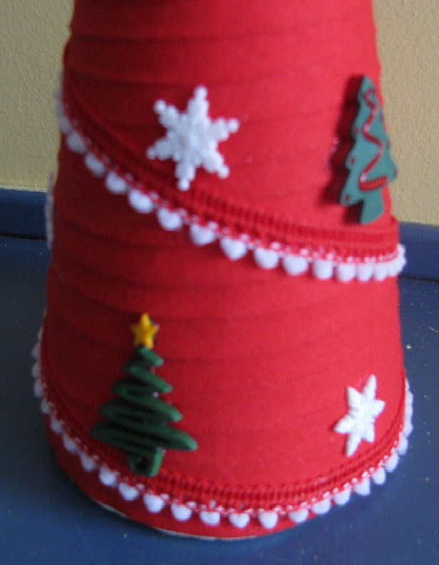 Quick Christmas Craft Table Decoration Craft For Kids