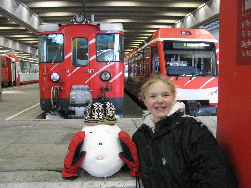 Zematt Cog Railway station