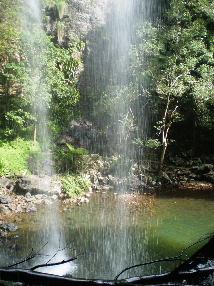 Daily Post Photography Challenge - Achievement  (Springbrook Waterfall) (3/4)