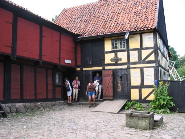 leaving a house in Denmark museum