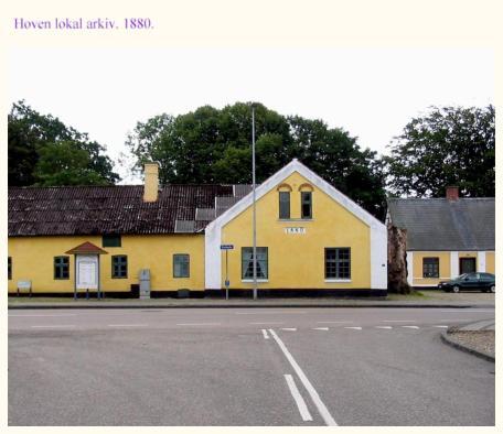 Skagen yellow housese