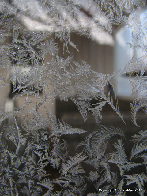 Ice crystals in Sweden
