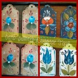 Hand Made luggage tags