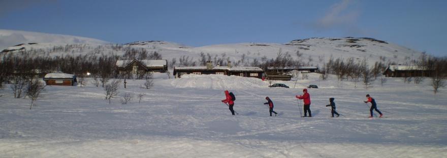 Skiing Bitihorn Beitostolen Norway