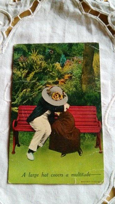 antique postcards