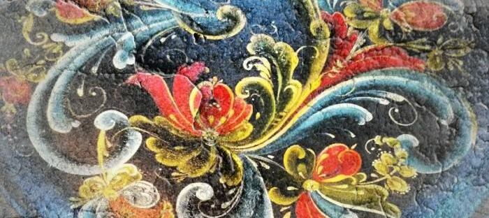 Norwegian_Rosemaling_art
