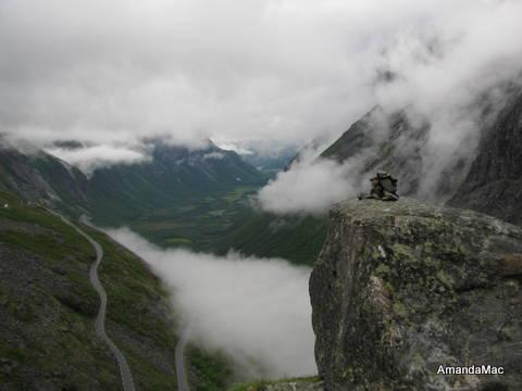 Troll Ladder Romsdal, Norway