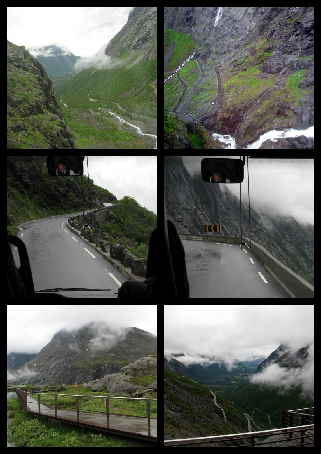 Trollstigen Collage