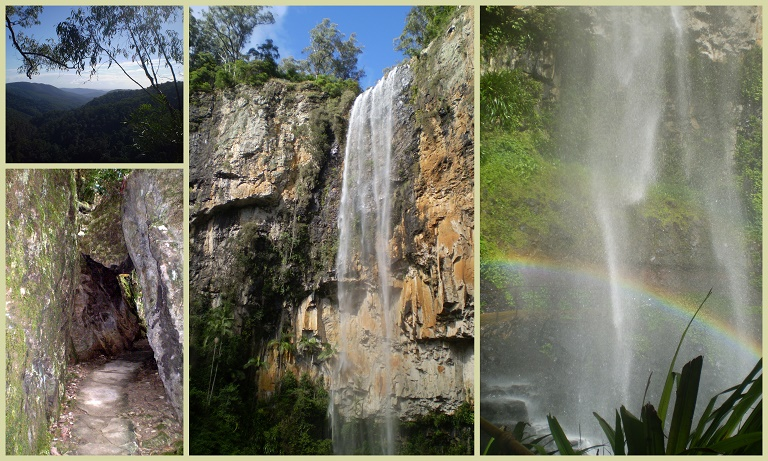 Daily Post Photography Challenge - Achievement  (Springbrook Waterfall) (2/4)