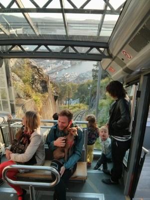 Bergen below!