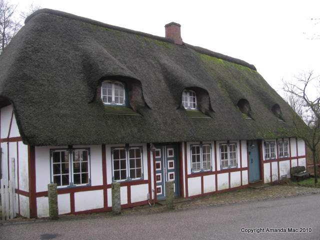 Danish thatched cottage