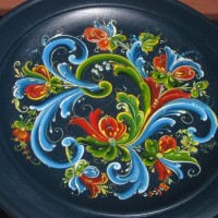 Traditional Norwegian Painting - Rosemaling Rules and Telemark Technique