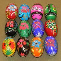 Traditional Art - Painted Easter Eggs