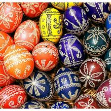 traditional designs on eggs - Opoczno