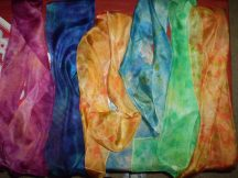 Silk Scarves I created