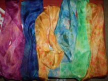 Silk Scarves I created