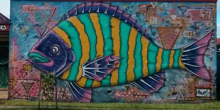fish graffiti
