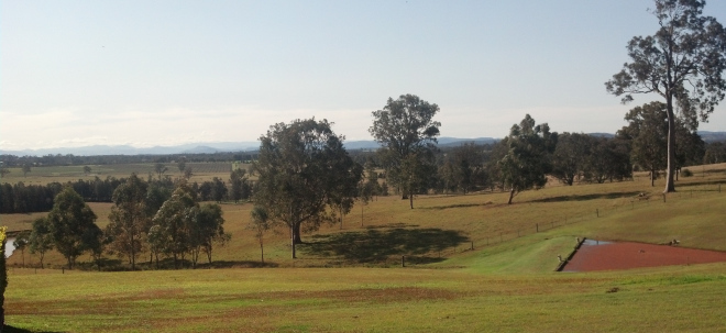 The beautiful Hunter Valley NSW, Australia