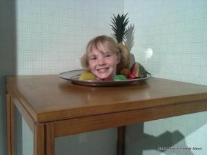 head on a plate