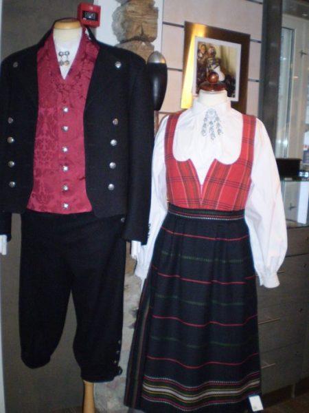 norwegian folk costue