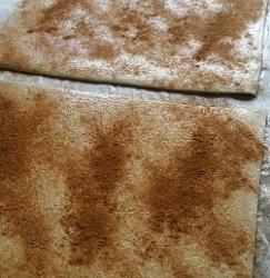 Sprinkle cinnamon and sugar on pastry