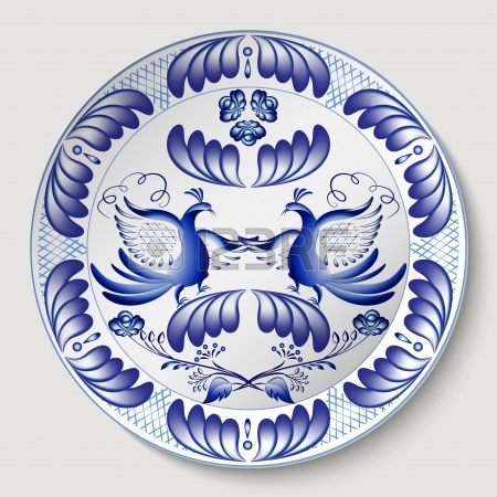 24544872-russian-national-round-floral-pattern-with-birds-blue-floral-pattern-in-gzhel-style-applied-to-the-c