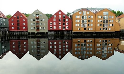Trondheim river