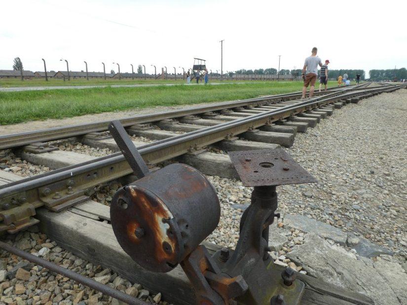 auschwitz railway