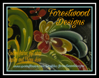 Rosemaling fabric shop