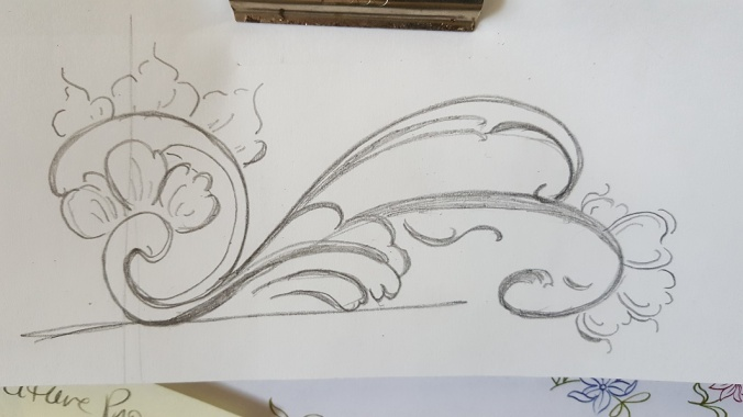 sketch positive negative space