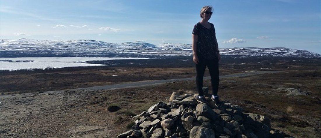 Sweden norway border fjell på grensen