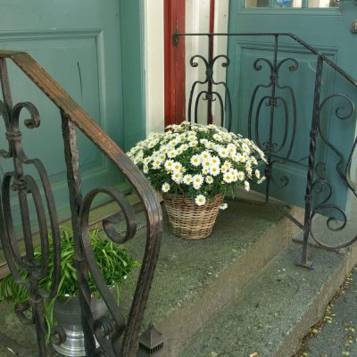 porch in Sweden