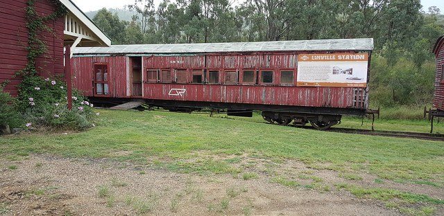 old railway car
