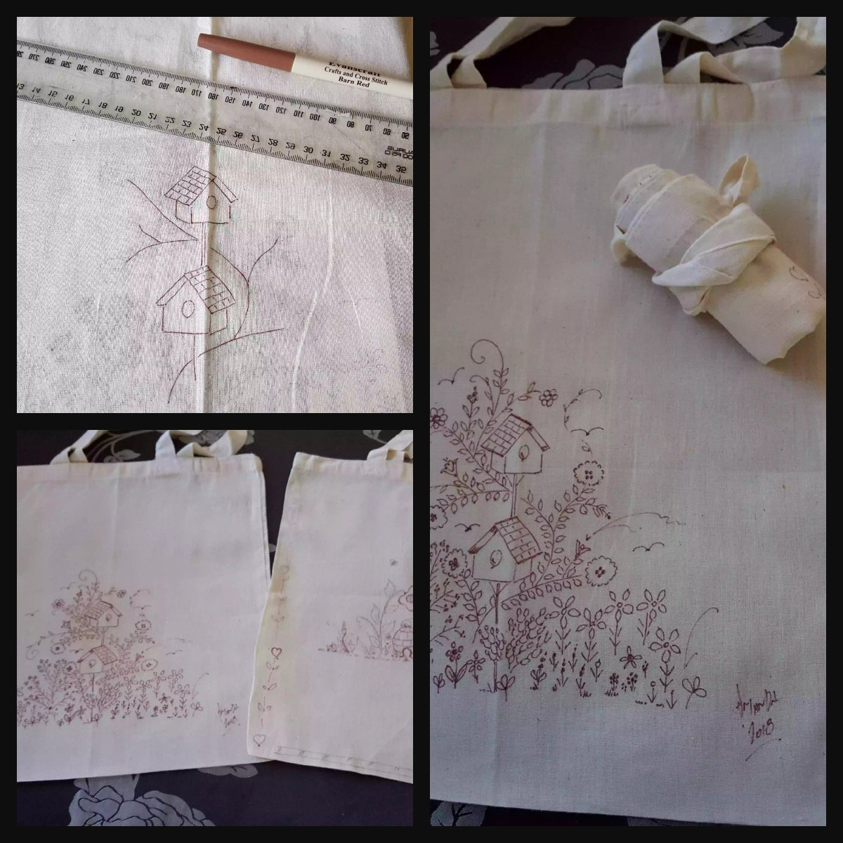 Kicking out Plastic – Tutorial Signature Shopping Bag