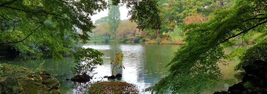 National garden Japan