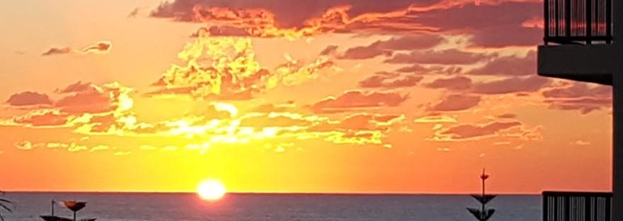 Early morning sunrise photography