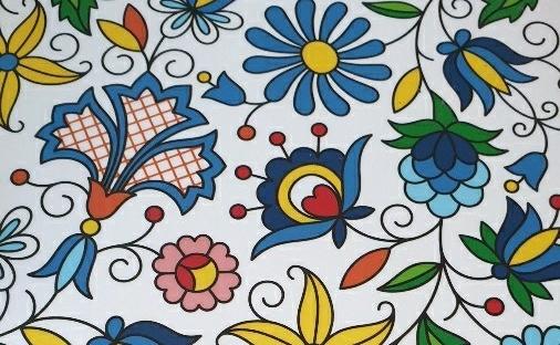 polish folk art mouse pad