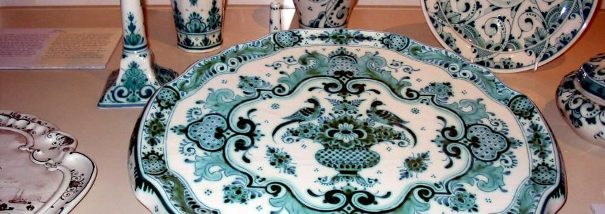 delft blue porcelain